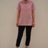 camiseta-cuello | Elisa Muresan ropa ecológica