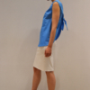 camiseta-lazo-espalda-lateral | Elisa Muresan ropa ecológica