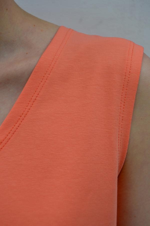 camiseta-volante-detalle | Elisa Muresan moda sostenible