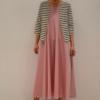 chaqueta-rayas-BN | Elisa Muresan ropa ecológica
