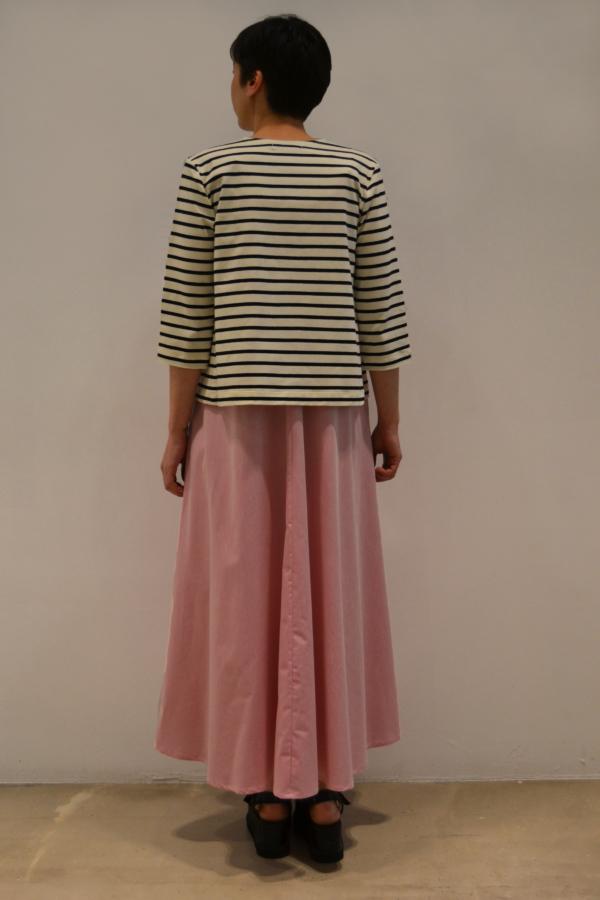 chaqueta-rayas-BN-detras | Elisa Muresan ropa ecológica