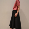 falda-midi-cremallera-lateral | Elisa Muresan moda sostenible