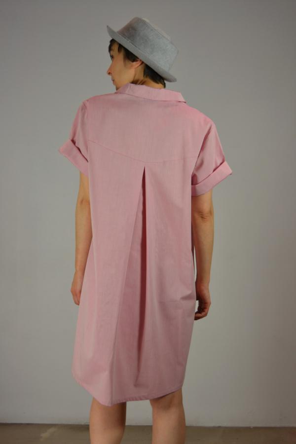 vestido-camisero-detras | Elisa Muresan ropa ecológica