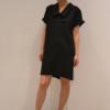 vestido-camisero-negro | Elisa Muresan moda sostenible