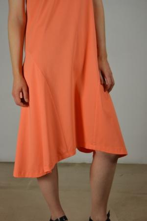 vestido godet detalle | Elisa Muresan moda sostenible
