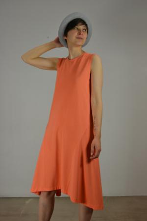 vestido-godet-lateral | Elisa Muresan moda sostenible