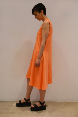 vestido-godet-lateral | Elisa Muresan ropa ecológica
